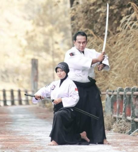 weiblich Samurai