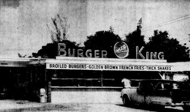 Burger King erstes Restaurant